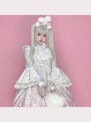Sweet Poodle Lolita Dress + Accessories Set by Diamond Honey (DH59)