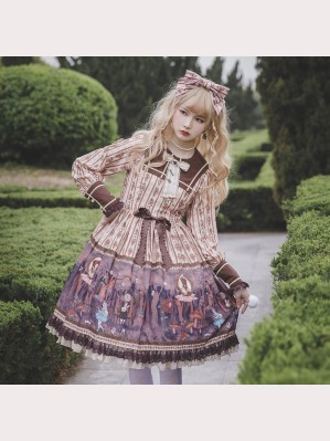 Alice's Dark Forest Classic Lolita Dress OP by Infanta (IN981)