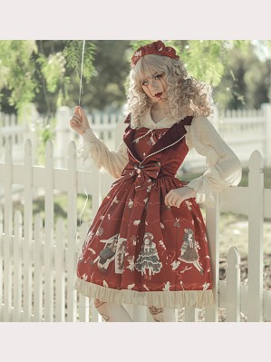 Broken Doll Gothic Lolita Style Dress JSK by Infanta (IN967)