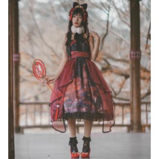 Suzaku Qi Lolita Style Dress JSK by Infanta (IN971)