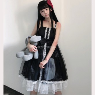 The Moon Gothic Lolita Style Dress JSK by JingYueFang (YJ16)