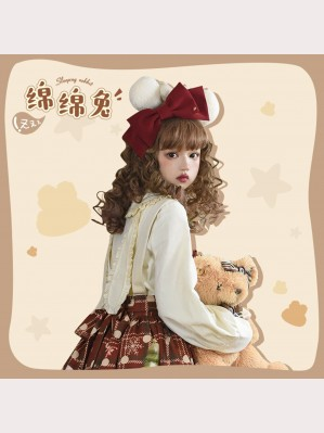 Sleeping Rabbit Lolita Style Blouse by Lineall Cat (LC07)