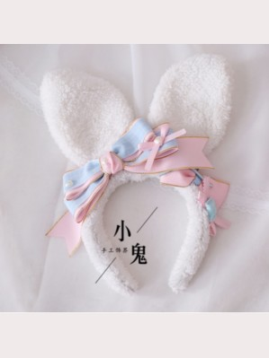 Kawaii Bunny Ears Pastel Headband (LG36)