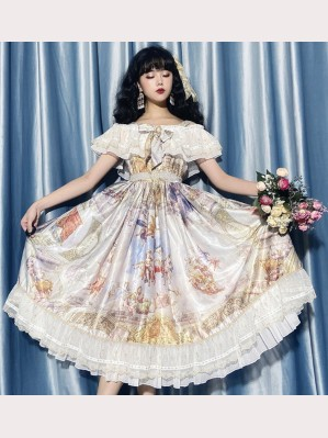 Angel Falls Lolita Style Dress JSK (CLS03)