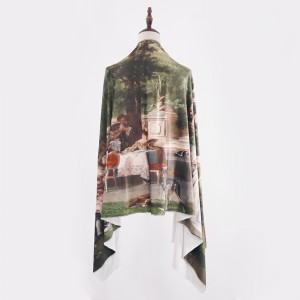 Palace Tea Party Classic Lolita Style Scarf (CLS07)