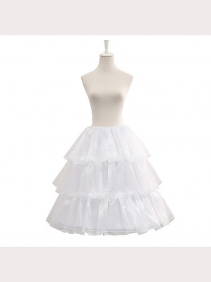Adjustable Three Layers Lolita Petticoat (CLS09)