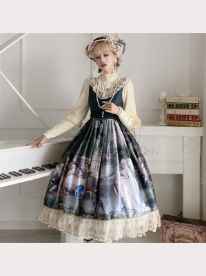 Palace Tea Party Classic Lolita Style Dress JSK (CLS01)
