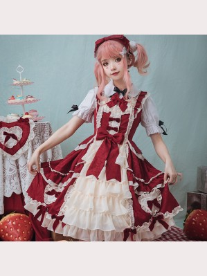 Concerto Of Love Sweet Lolita Style Dress JSK (IL02)