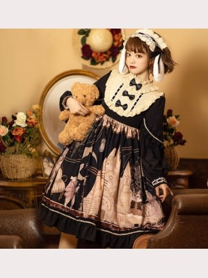 Forest Theatre Sweet Lolita Style Dress OP (KJ33)