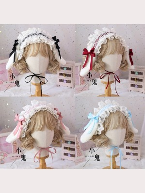 Mini Lop Rabbit Ears Sweet Lolita Style Headband KC (LG25)