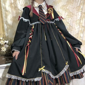 Alchemy School Lolita Style Dress OP (PN01)