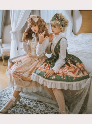 Bird Journey Classic Lolita Style Dress JSK (PS01)
