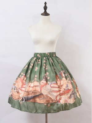 Bird Journey Lolita Style Skirt SK (PS01)
