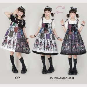 Splicing Dolls Double-sided JSK / Assorted Colors OP (PS02)