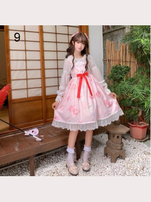 Special Offer! Sweet Lolita Style Dress & Accessory Set (WS18)