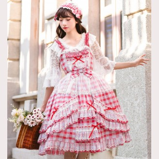 Country Lolita Style Dress JSK (YA07)