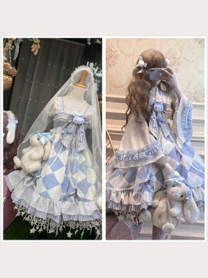 Alice Rabbit Wa Lolita Dress Special Set (DJ28)