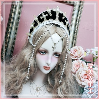 Handmade The Virgin Lolita Crown (SL07)
