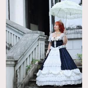 Michael Vintage Lolita dress OP by Souffle Song (SS1022)