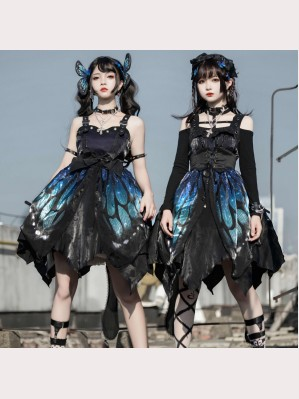 Butterfly Effect Gothic Lolita Dress JSK by Star Fantasy (ST02)