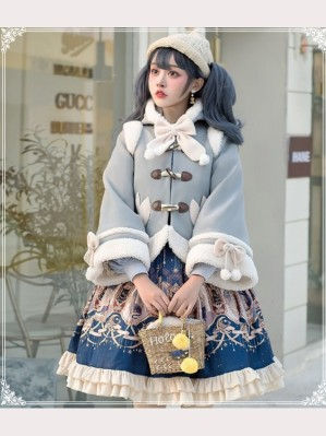 Bullish Lolita Fleece Cloak by YingLuoFu (SF11)
