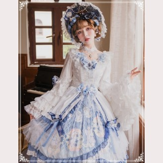 Vivienne Lolita Dress OP 3 items Set by YingLuoFu (SF31)