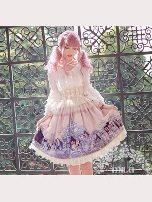 Sleeping Beauty Classic Lolita Skirt SK by Milu Forest (MF04)