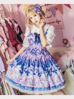 Easter Bunny Classic Lolita Dress JSK by Milu Forest (MF07)