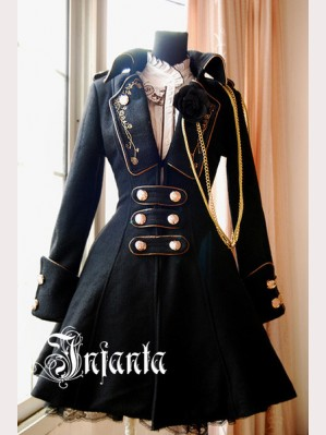 "Infanta ""Winter Elegy"" Lolita Coat"