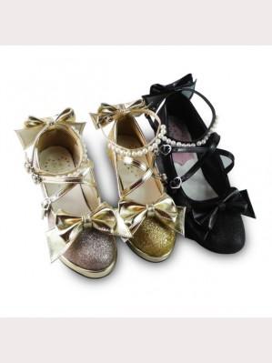 Lolita Glitter Shoes
