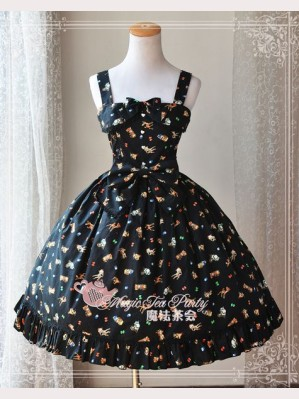 "Magic tea party ""Animals"" lolita dress JSK"