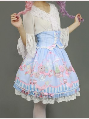 "Souffle Song ""Bunny"" lolita skirt"