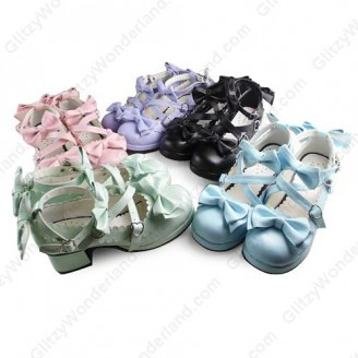 Lolita high heels shoes