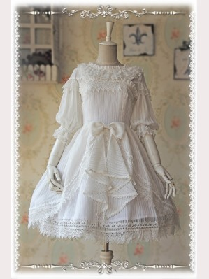 Infanta Rose Funeral Lolita Dress JSK