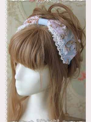 Infanta Graceful Print Lolita headbow KC