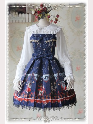 Infanta Flame Cirucs Lolita Dress JSK