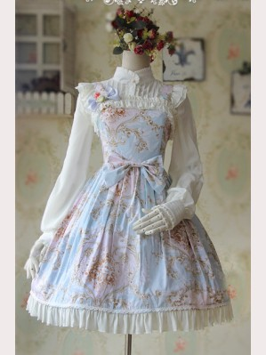 Infanta Graceful Print Lolita Dress JSK