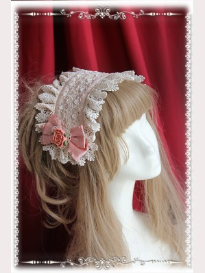 Infanta Rose Funeral Lolita Headdress