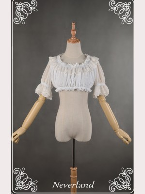 Souffle Song cropped lolita blouse 2