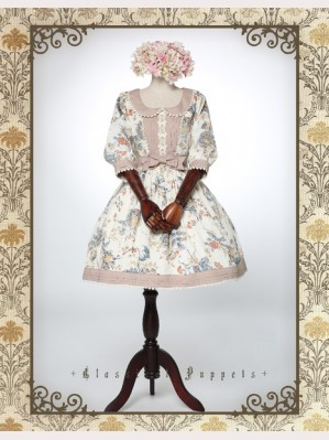 Classical Puppets Victoria Garden Dress OP (Mid-Sleeves Length)
