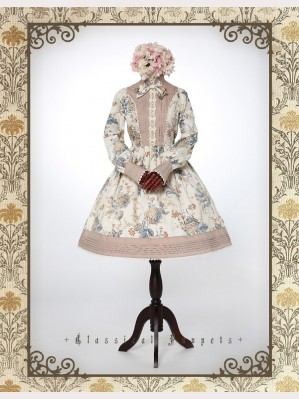 Classical Puppets Victoria Garden Dress OP (Long Sleeve)