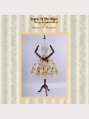 Classical Puppets Track Of The Stars Beast Magic Skirt SK