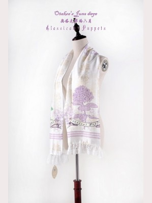 Classical Puppets Otaksa's June Days Scarf