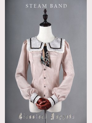 Classical Puppets Steam Band Blouse