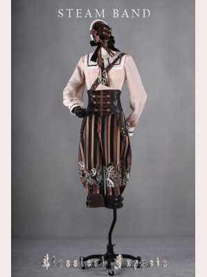 Classical Puppets Steam Band Suspender Trousers