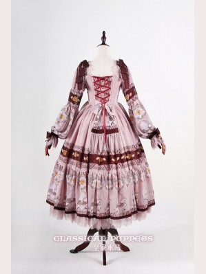 Classical Puppets Royal Carousel Dress OP (Long Sleeve)