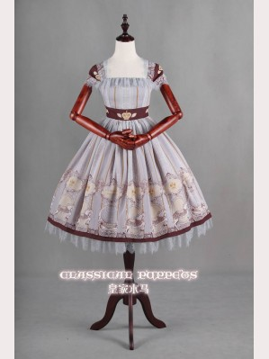 Classical Puppets Royal Carousel Dress JSK
