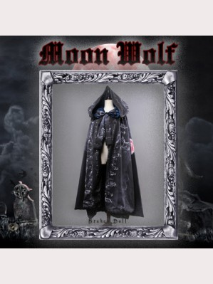Classical Puppets Broken Doll-Moon Wolf Hooded Cloak