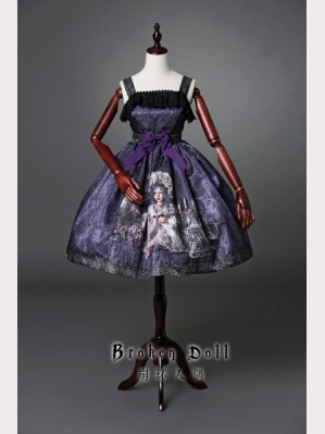 Classical Puppets Broken Doll Dress JSK