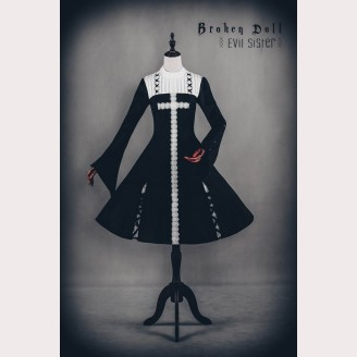 Classical Puppets Broken Doll Evil Sister Dress OP